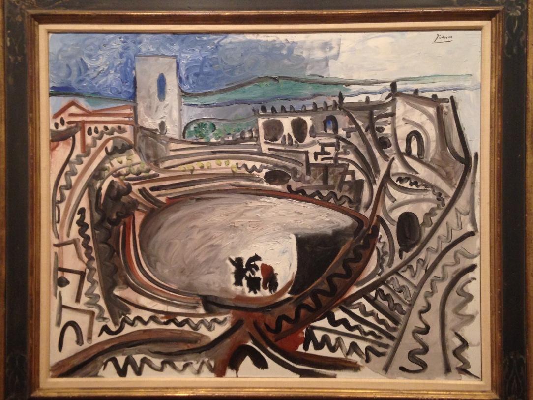 Pablo Picasso, 'Arles: El Ruedo Delante del Rodano', 1960. Oil on Canvas.